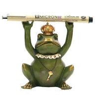 Astoria Grand Hanson Frog Gatekeeper Pen Holder