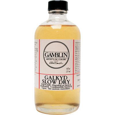 Gamblin G02508 8oz Galkyd Slow Drying