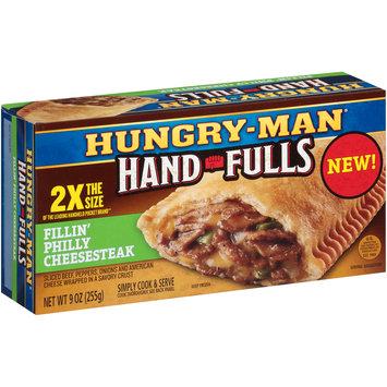 Hungry-Man® Hand-Fulls Fillin' Philly Cheesesteak Frozen Sandwich 9 oz. Box