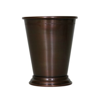 Williston Forge Blondelle Beaded Mint 14 oz. Copper Julep Cup Finish: Antique Copper