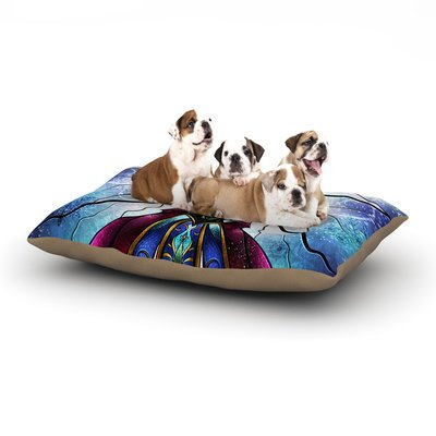 East Urban Home Mandie Manzano 'The Little Sister' Frozen Dog Pillow with Fleece Cozy Top Size: Large (50