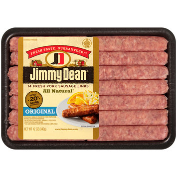 Jimmy Dean® Original Sausage Links 12 oz. Tray