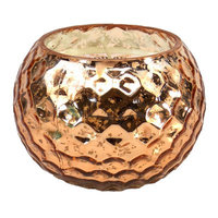Mercer41 Honeycomb Scented Jar Candle Color: Cooper
