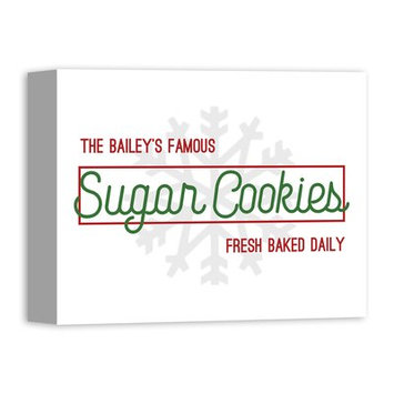 Designs Direct Creative Group 'Fresh Baked Holiday Treats Sign' Textual Art on Canvas