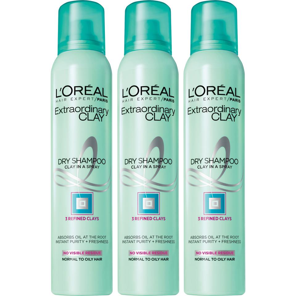 L'Oreal Paris Hair Expert Extraordinary Clay Dry Shampoo