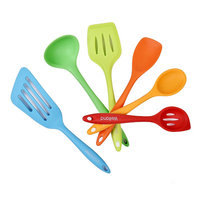 Welland Industries Llc 6 Piece Silicone Cooking Utensil Set