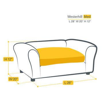 Keet Westerhill Dog Sofa Size: Medium (30