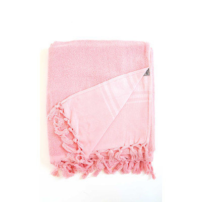 Darby Home Co Hudgens Bath Sheet Color: Strawberry