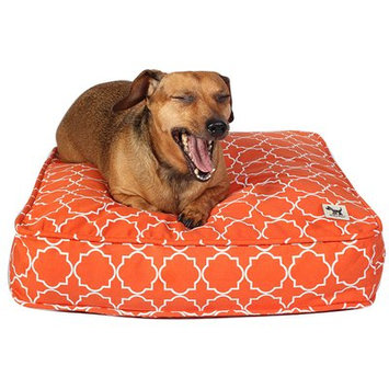 Molly Mutt Your Hand in Mine Petite Duvet Pillow Color: Orange
