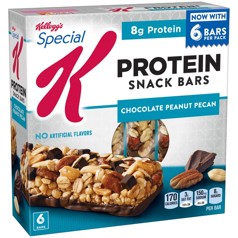 Special K® Kellogg's Chocolate Peanut Pecan Protein Snack Bars