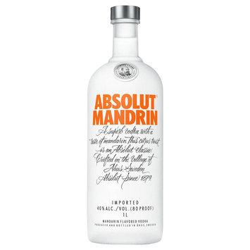 Absolut Vodka Sweden Mandrin 1L Bottle