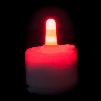 Theamazingflamelesscandle Performance Series Flameless Candle (Set of 6) Color: Red