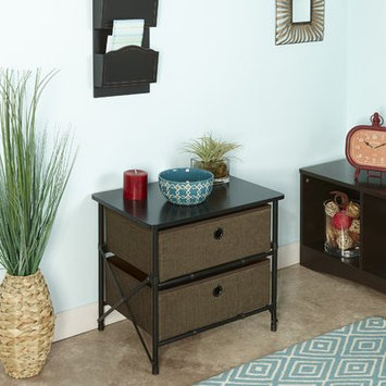 Rebrilliant Duke Sort and Store Organizer Chest Finish: Brown