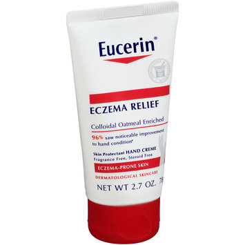 Eucerin® Eczema Relief Skin Protectant Hand Creme 2.7 oz. Tube