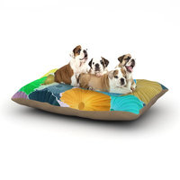 East Urban Home Heidi Jennings 'Curiousity' Cool Dog Pillow with Fleece Cozy Top Size: Small (40