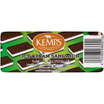 Kemps® Ice Cream Sandwich 3.75 fl. oz. Wrapper