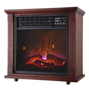 Comfort Glow Cg 5200 Btu Quartz Fireplc Oak, Heaters, Fireplaces