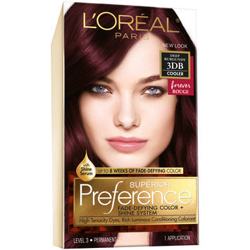 L'Oreal® Paris Superior Preference® Hair Color Cooler 3DB Deep Burgundy 1 kt Box