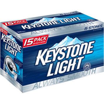 Keystone Light® Beer 15-12 fl. oz. Cans