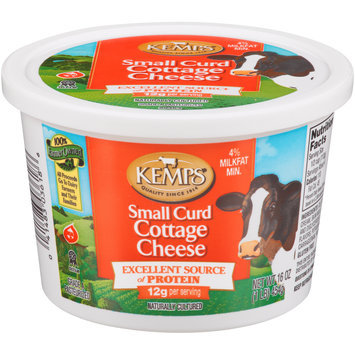 Kemps® Small Curd Cottage Cheese 16 oz. Plastic Tub