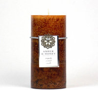 Highland Dunes Ocean Mist Scented Pillar Candle Color: Turquoise, Size: 3