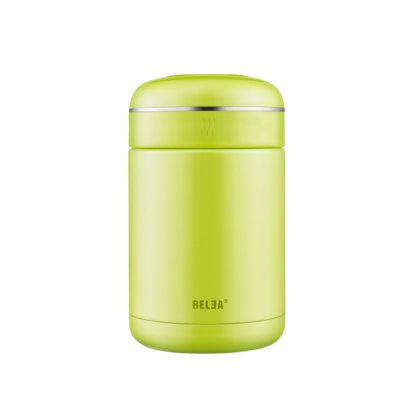Relea Double Wall 18 Oz. Food Storage Container Color: Green