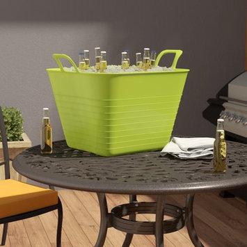 Rebrilliant 40 Liter Multi-Purpose Square Flex Plastic Bucket