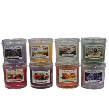 Essential Decor & Beyond Scent Jar Candle Size: 3.6