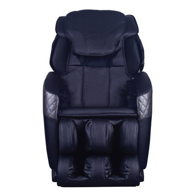 Symple Stuff Massage Chair Upholstery: Black