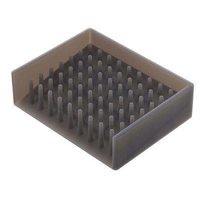 Symple Stuff Soap Dish Color: Black