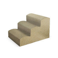 Pura Naturals Pet Fabric Stair Color: Ivory
