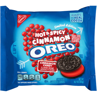 Nabisco Oreo Hot & Spicy Cinnamon Candy Creme