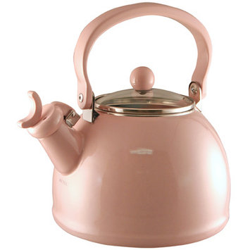 Varick Gallery Hippolyte 2.2 Qt. Whistling Stove Tea Kettle Color: Pink