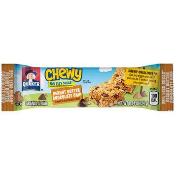Quaker® Chewy Peanut Butter Chocolate Chip Granola Bar 0.84 oz. Wrapper