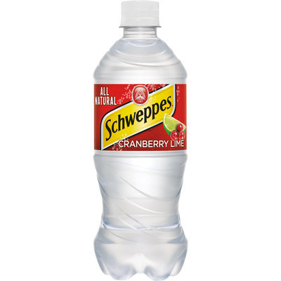 Schweppes Cranberry Lime Sparkling Seltzer Water