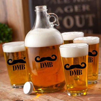 Jds Personalized Gifts 5-Piece Growler Set