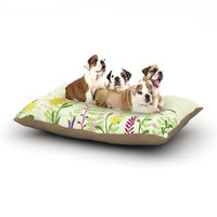 East Urban Home Emma Frances 'Springtime' Dog Pillow with Fleece Cozy Top Size: Small (40