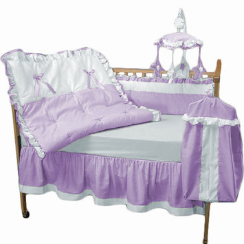 Blue Marble Products Baby Doll Bedding Regal Crib Bedding Set Lavender