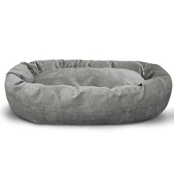 Majestic Pet Products, Inc. Suede Bagel Bolster Dog Bed Size: Extra Large (52
