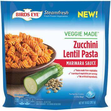 Birds Eye® Steamfresh® Veggie Made™ Marinara Sauce Zucchini Lentil Pasta 10 oz. Bag