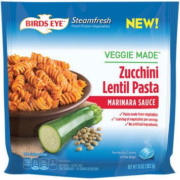 birds eye® steamfresh® veggie made™ marinara sauce zucchini lentil pasta