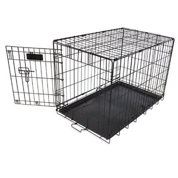 Aspen Pet Single-Door Home Training Pet Crate Size: 21