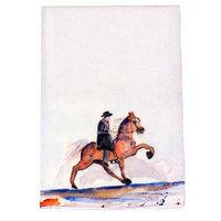 Betsy Drake Interiors Walking Horse Hand Towel