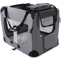 OxGord Paws & Pals Dog Crate Soft Sided Pet Carrier - Foldable Portable Soft Pet Crate Training Kennel - Great for Indoor or Outdoor
