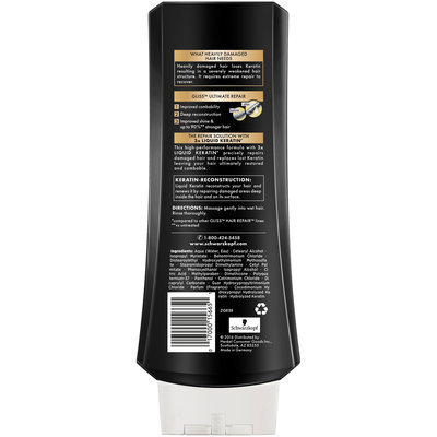 Schwarzkopf Gliss™ Hair Repair™ with Liquid Keratin Ultimate Repair Conditioner 13.6 fl. oz. Bottle