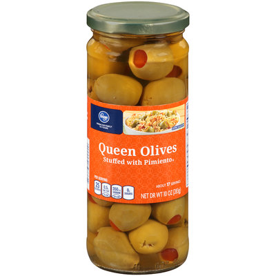 Kroger® Queen Olives Stuffed with Pimiento 10 oz. Jar
