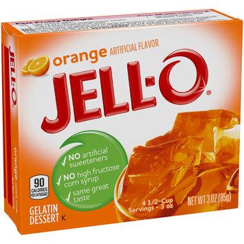 Jell-O® Orange Gelatin Dessert Mix 3 oz. Box