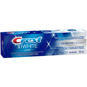 3D White Luxe Crest 3D White Luxe Diamond Strong Toothpaste, 100 mL