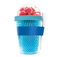 Adnart Chill Yo 2 Go Food Storage Container Color: Blue