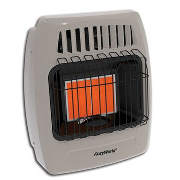 World Marketing Kozy World 12,000 BTU Infrared Liquid Propane Gas Wall Heater